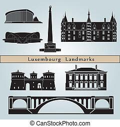 luxemburg, limiti