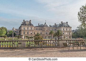 luxemburgo, parís, palase, francia