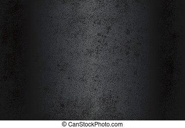 luxo, afligido, pretas, metal, gradiente, papel, texture., antigas, pergaminho, fundo