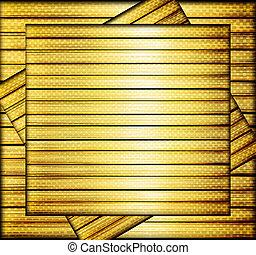 luxo, dourado, textura