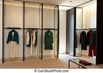 luxo, e, na moda, europeu, diferente, roupas compram