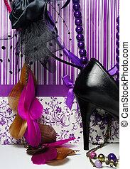 luxo, shopping, -, glamour, grande, acessórios