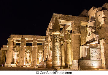 Luxor temple at night - Egypt
