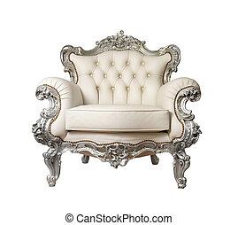luxueux, fauteuil