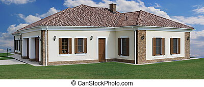 luxuriöses heim