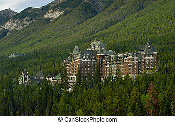 Banff Springs Hotel - Luxurious Banff Springs Hotel in the...