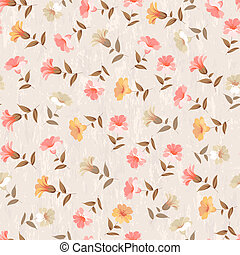 Luxurious color flower pattern. - Luxurious color flower...