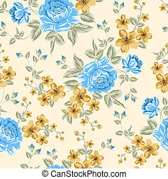 Luxurious color peony pattern. - Luxurious color peony...