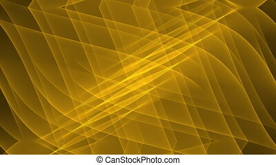 Luxurious golden abstract background with diagonal oriented wavy curves. Nice festive decorations for holidays, celebrations. Shiny christmas decoration, birthday party live background