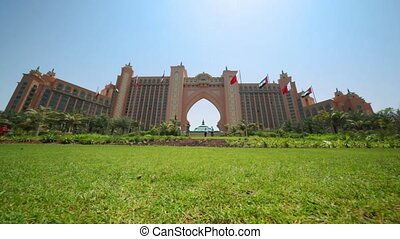 Luxurious hotel Atlantis the Palm in Dubai, UAE.