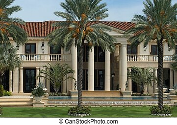 Luxurious mansion