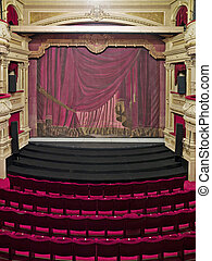 Luxurious theather hall