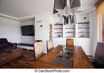 Luxurious villa interior - Photo of luxurious villa interior...