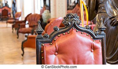 Luxuroius vintage chair