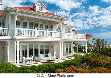 Luxury american dream beach summer house