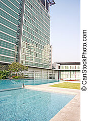 Luxury Apartment Condominium Property With a Pool