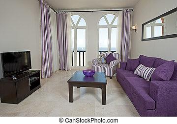 Luxury apartment interior design