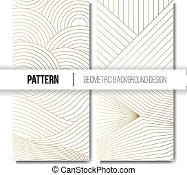 Luxury Art Deco Background Collection