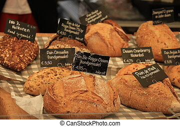 Luxury artisanal bread