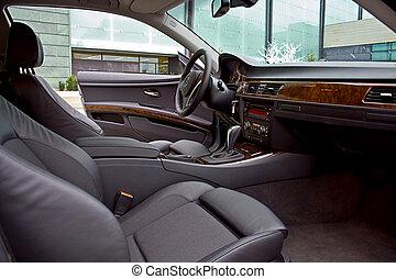 luxury autó, belső