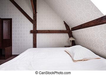 Luxury bedroom in elegant house