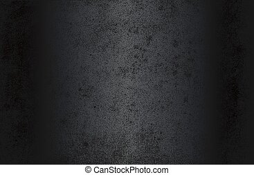 Luxury black metal gradient background with distressed old paper, parchment texture.