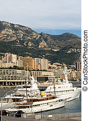 Luxury Boats, Monte Carlo, Monaco