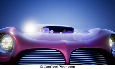 Luxury Brandless Sport Car - luxury brandless sport car on...