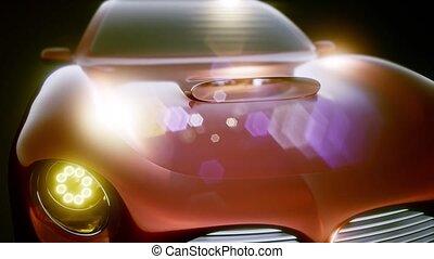 Luxury Brandless Sport Car