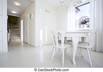 Luxury bright interior