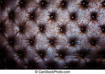 Luxury brown leather close-up background with great detail for background