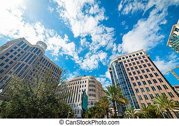 Luxury buildings in West Palm Beach