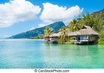 Luxury bungalows - Luxury overwater bungalows in Tahiti