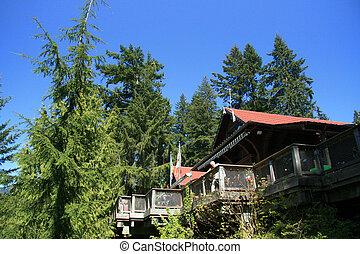 Luxury Cabin, Vancouver, Canada