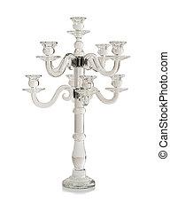 Luxury candlestick isolated - Luxury decorative candlestick...