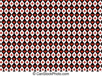 Luxury casino gambling background with card symbols - Casino...
