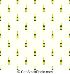 Luxury champagne pattern seamless vector