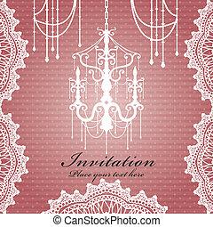 Luxury chandelier background