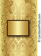 book cover  - Luxury charcoal and gold gothic book cover