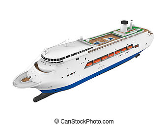 Tourists On Cruise Ship Stock Illustration Search Clip Art - Cruise ship drawings