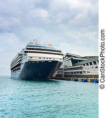 Luxury cruise ship terminal, Singapore