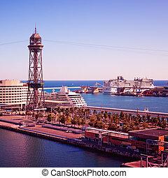 Luxury Cruise Ships in Barcelona
