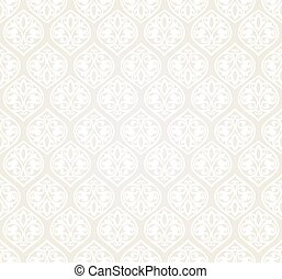 Blue and gold luxury damask seamless motif . Vintage Victorian style pattern. Vector illustration