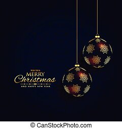 luxury dark christmas festival background design