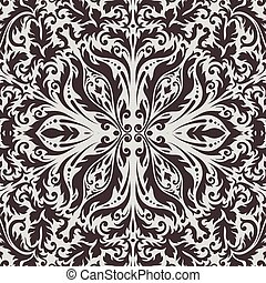 Luxury decorative background . Premium damask background