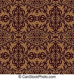 Luxury decorative background . Premium damask background