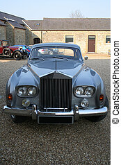 Luxury English car. - Luxury English car in a village car...