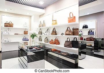 luxury european bag store