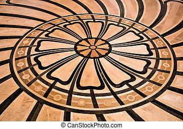Luxury floor finishing