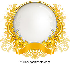 Luxury Frame, vector